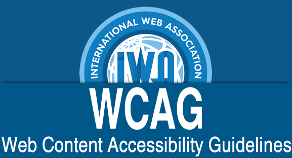 WCAG - Web Content Accessibiity Guidelines
